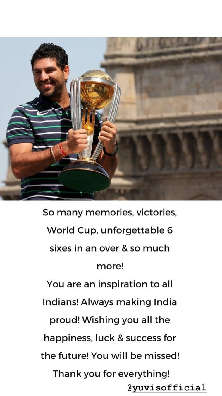anil kapoor on yuvraj singh retirement