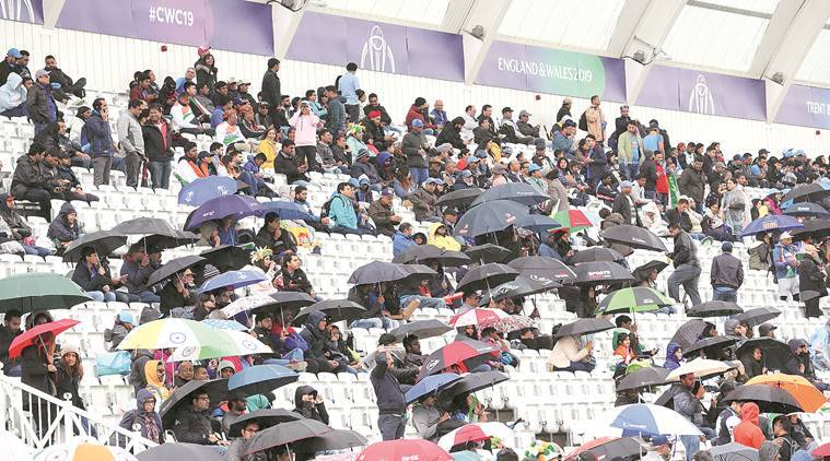 Hope floats at Old Trafford: Rain relents ahead of the match