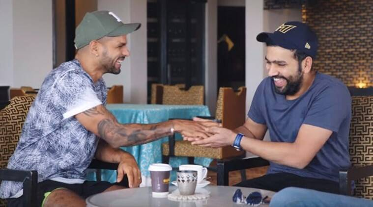 Rohit Sharma and Shikhar Dhawan get candid on Breakfast with Champions 6
