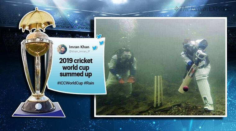 icc world cup 2019, cricket world cup, rain cwc 2019, cwc 19 rain delay match, rain cancel cwc match, rain memes cwc, cwc memes, cricket memes, world cup news, cricket world cup news, indian express, sports news