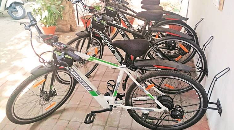 chandigarh, cycle sharing system, public cycle sharing sytem, smartbike, smartbike chennai, bicycles, chandigarh news, indian express news