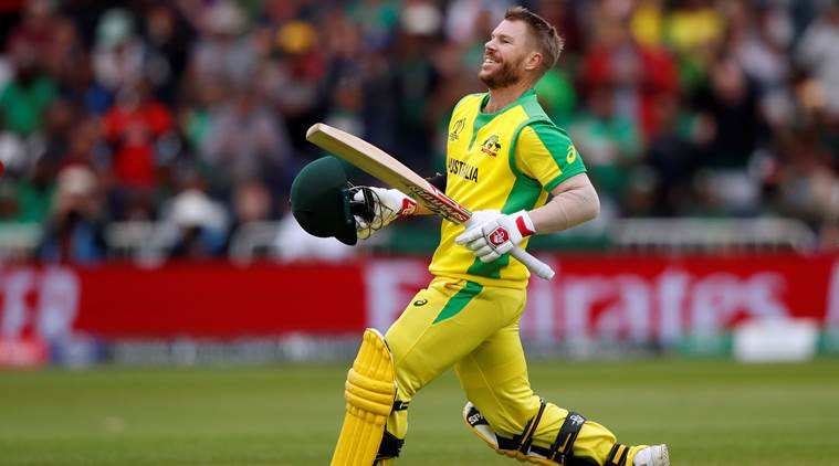 David Warner slams highest score in World Cup 2019, equals