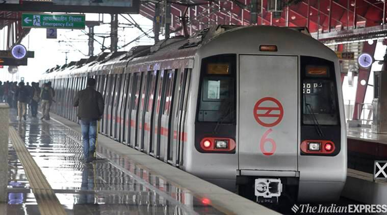 delhi metro, delhi metro rail corporation, dmrc, delhi metro rail corporation dmrc, dmrc delhi metro rail corporation, delhi metro yellow line, delhi metro blue line, delhi metro fares, delhi news, Indian Express