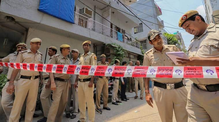 Delhi, Delhi News, Delhi Police, Vasant Kunj murder, elderly murder, crime news, murder news, Delhi crime, Kejriwal, AAP, Indian Express