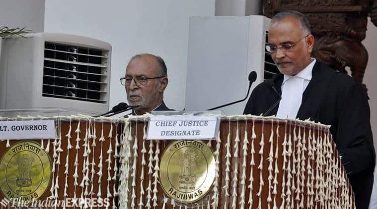 Delhi high court, Delhi HC chief Justice, Dhirubhai Patel, Dhirubhai Naranbhai Patel, Delhi HC Chief Justice, Arvind Kejriwal, Indian Express, latest news