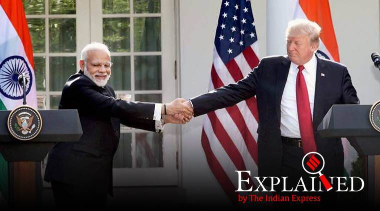 Donald Trump, US India trade, Generalised System of Preferences, US GSP, Narendra Modi, India GDP, unemployment, Indian Express