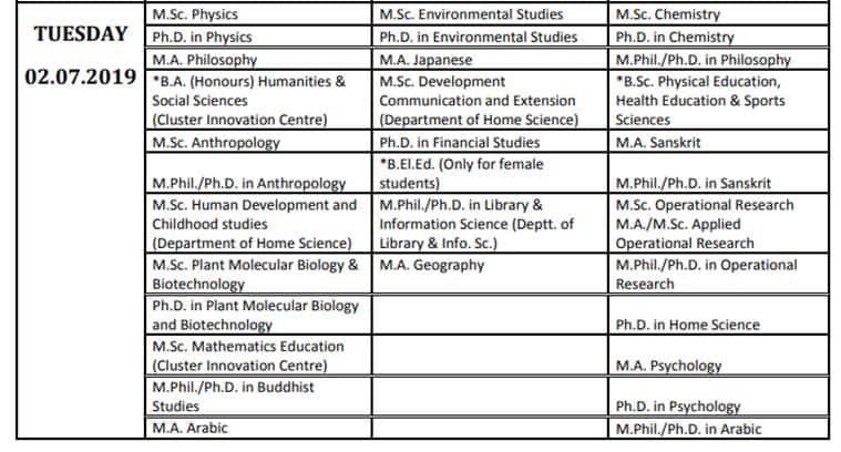 du.ac.in, duet 2019, du entrance exam, nta, nta du test, du entrance test 2019, du admissions 2019, delhi univeristy, university of dlehi admissions 2019, education news
