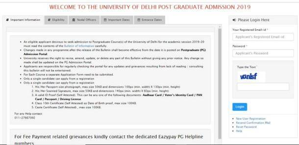 DU, DU admissions, DU PG admissions, delhi university admission, DU MA admission, university of delhi, du.ac.in, college admission, education news