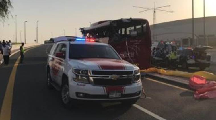 dubai accident, dubai bus accident, dubai bus accident death toll, indians killed in dubai bus accident, indians killed in dubai accident, dubai news, dubai police