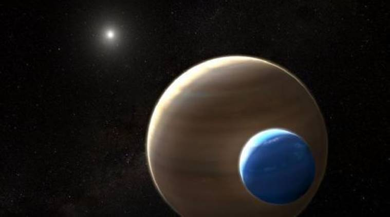 exomoons, alien life, aliens, extra terrestrial life, moons, moons outside solar system, exomoons aliens, alien life in exomoons, aliens on moons, university of lincoln, united kingdom, uk, london, indian express news