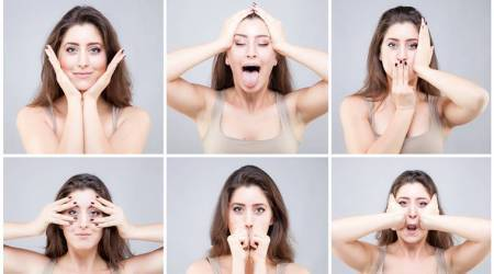 Face Yoga helps in releasing facial tension, neck and eye strain. (Source: Getty Images/Thinkstock)
