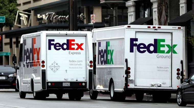 FedEx, FedEx suit, FedEx-China, FedEx-US,FedEx Export ban, US-China trade fight, Huawei, Huawei restrictions, US export ban, World news, Indian Express