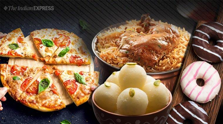 Uber Eats, Uber Eats report, new cravings report, The Eats Cravings Report 2019, indianexpress.com, indianexpressonline, indianexpressnews, indianexpress, pizza indians, spicy pizzas report, uber eats report on Indians food preferences, food habits indians, new report, biryani love, pizza love, coffee with no sugar, no onion no garlic demand, jains love for food, indian food, western food, jain food, sweet tooth cravings, sweet tooth indian sweets, ras malai love, ice cream flavours indians like, binge-watching, food habits that indians have, food cravings, midnight cravings,
