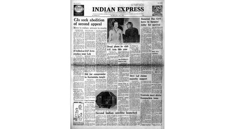 June 8, 1979, Forty Years Ago: Bhaskara Launched