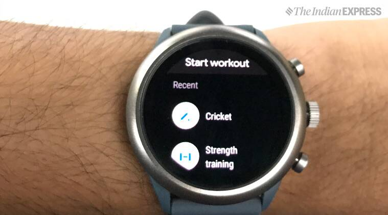 Fossil Sport smartwatch review, Fossil Sport review, Fossil Sport, Fossil, smartwatch, Fossil smartwatch, Leela Prasad, Indian Express