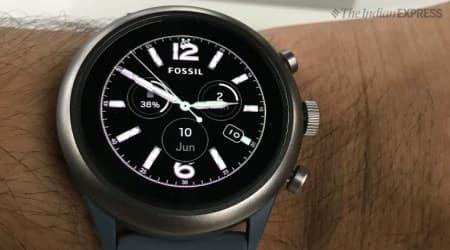 Fossil Sport smartwatch review, Fossil Sport review, Fossil Sport, Fossil, smartwatch, Fossil smartwatch, Leela Prasad, Indian Express