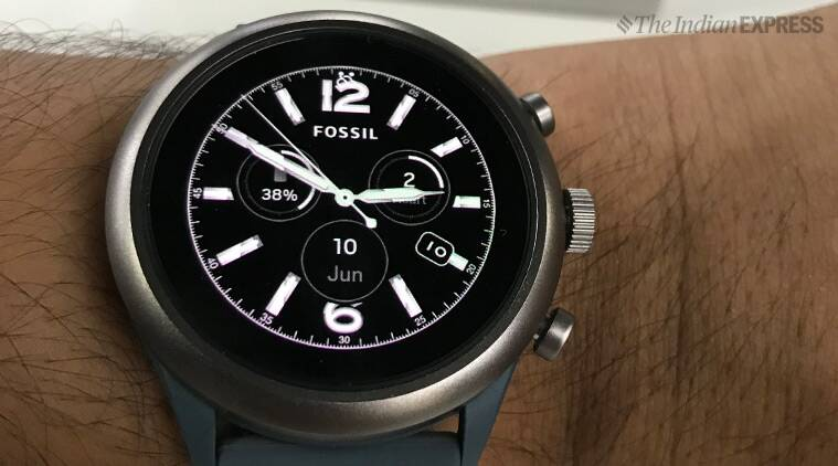 fossil sport smartwatch review a watch for all seasons technology news the indian express. Black Bedroom Furniture Sets. Home Design Ideas