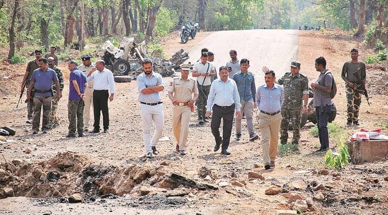 gadchiroli maoist blast, blast, Maharashtra maoist blast, NIA charges gadchiroli maoist attack accused, Maharshtra news, naxal blast, Gadchiroli naxal attack, indian express