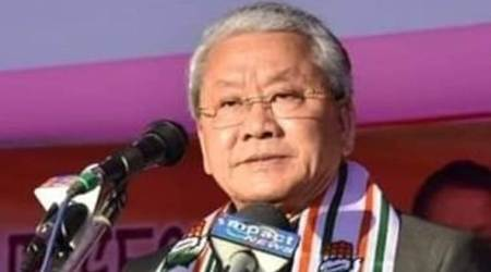 manipur congress, congress in manipur, manipur pradesh congress committee, mpcc, Gaikhangam Gangmei, Gaikhangam Gangmei congress, northeast news, Indian Express
