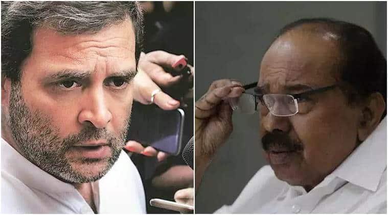 Rahul Gandhi, Rahul Gandhi Congress, Veerappa Moily, Moily Rahul Gandhi, Rahul Gandhi CWC, CWC meeting, Congress president, Priyanka Gandhi, Rahul Gandhi news, Congress party, indian express, latest news,