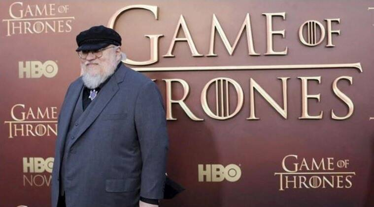 George RR Martin, George RR Martin game of thrones, George RR Martin finishing game of thrones book, George RR Martin making progress with game of thrones book, indian express, indian express news