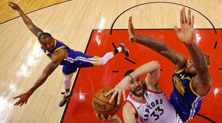 Golden State Warriors stave off elimination with win over Toronto Raptors