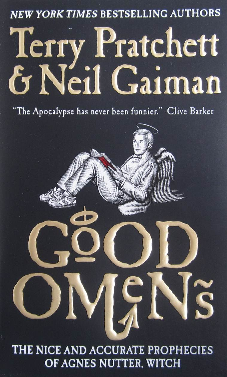 Terry Pratchett, author Terry Pratchett, good omens, Terry Pratchett good omens