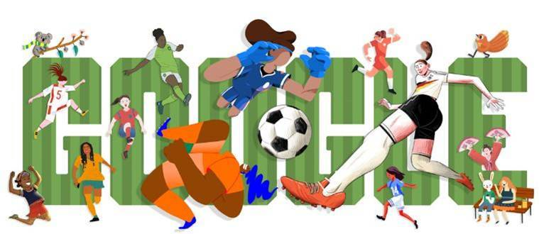 Let the games begin! Google kicks off FIFA Women's World Cup 2019 with doodle