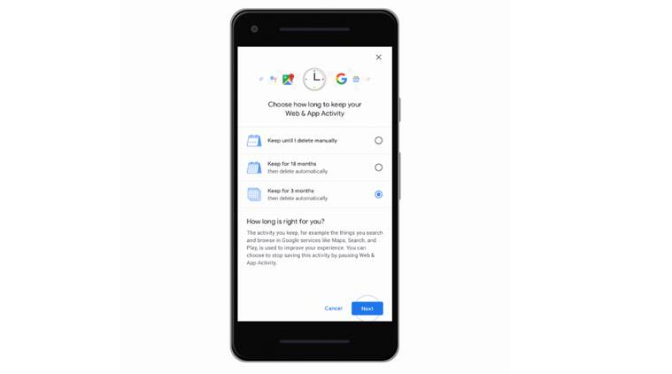 Google, Google Location data, Google location data, Google new settings, Google privacy settings, Google delete data, Google automatically delete location data, Google new privacy settings, Google privacy