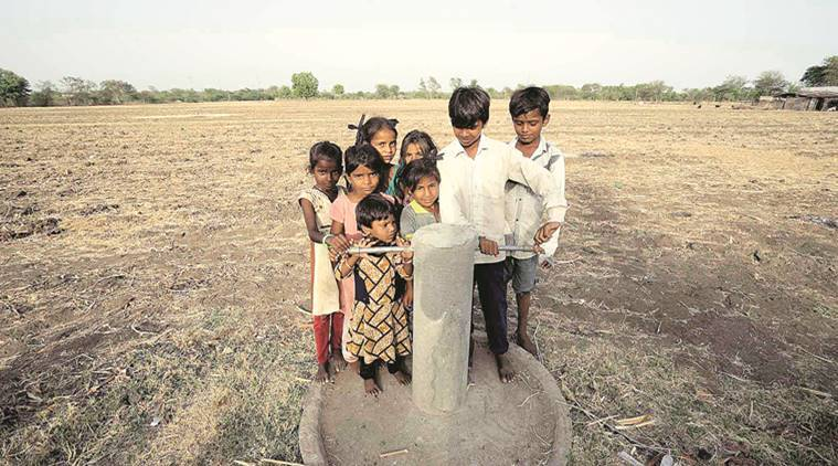 tuwa village, tuwa gujarat, gujarat water crisis, tuwa water crisis, tuwa no water, tuwa village no water, tuwa hot water springs, indian express news