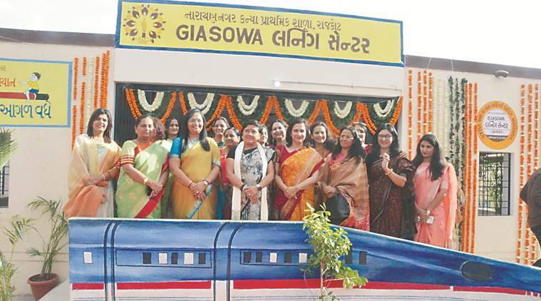Skill training for Gujarat govt school students, courtsey IAS officers' wives' group