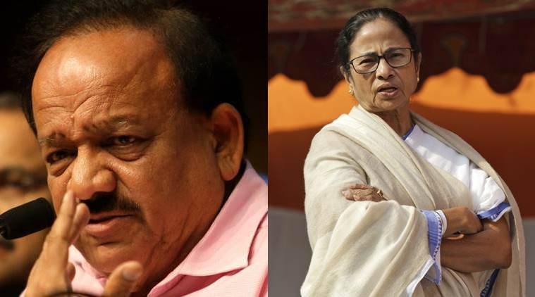 kolkata doctor assault, kolkata doctors protest, west bengal doctors protest, bengal doctors protest, mamata banaerjee, harsh vardhan to mamata banerjee, harsh vardhan on doctors protest, doctors strike, delhi doctors strike, indian express news