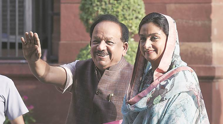 On Health table for Harsh Vardhan: Pending Bills to Ayushman Bharat