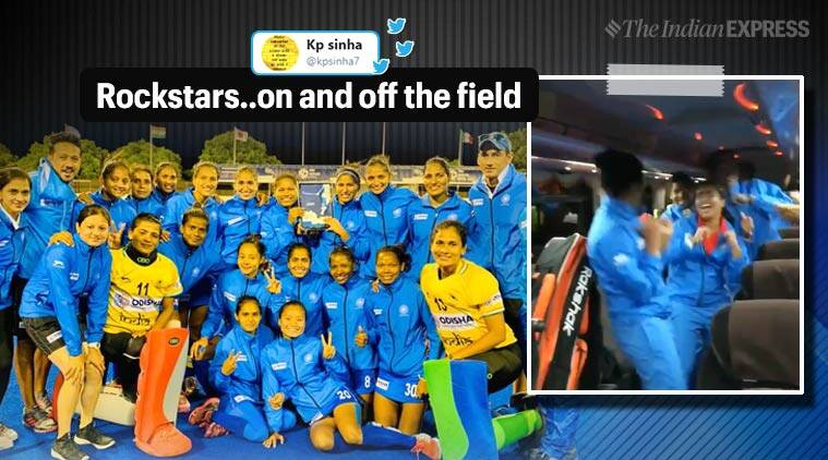 women's hockey, Indian women's hockey team, FIH series, FIH series final win, hockey, hockey team, Trending new, Indian Express, indian express news