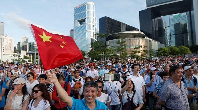 Hong Kong, Hong Kong protest, Hong Kong China, China Hong Kong, Hong Kong extradition, Extradition Hong Kong bill, Hong Kong extradition bill, Indian Express, latest news