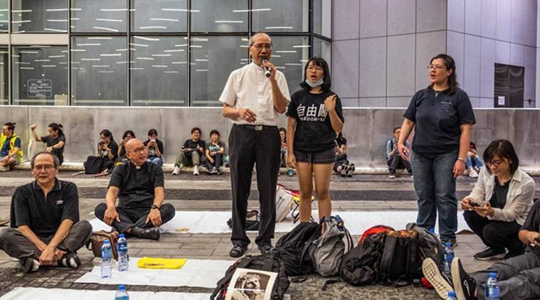 With hymns and prayers, Christians help drive Hong Kong's protests