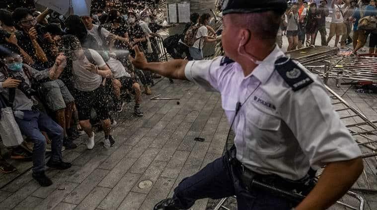 hong kong crisis, hong kong protests, protests in hong kong, hong kong extradition bill, extradition bill hong kong, g-20 summit, g-20 meeting, g-20 summit 2019, g-20 summit china, g-20 summit hong kong issue, world news, Indian Express