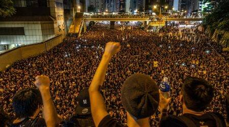 Activists in Hong Kong make pitch to extradition protesters: register to vote