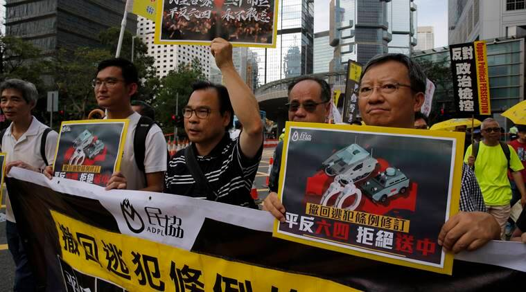 hong kong extradition laws, hong kong protest, us-china dispute, china-hong kong dispute, hong kong pro-republic protest, mainland china, express explained, indian express