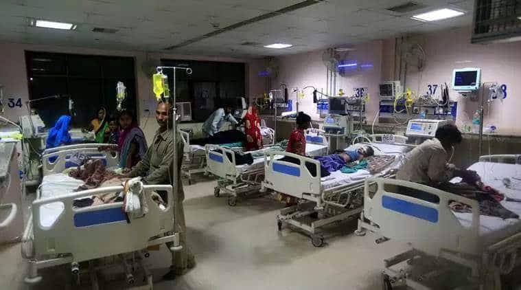 Acute Encephalitis Syndrome, AES, harsh vardhan, dr harsh vardhan, union health minister, bihar, bihar deaths, muzaffarpur children deaths, what is Acute Encephalitis Syndrome, what is AES, india news, Indian Express