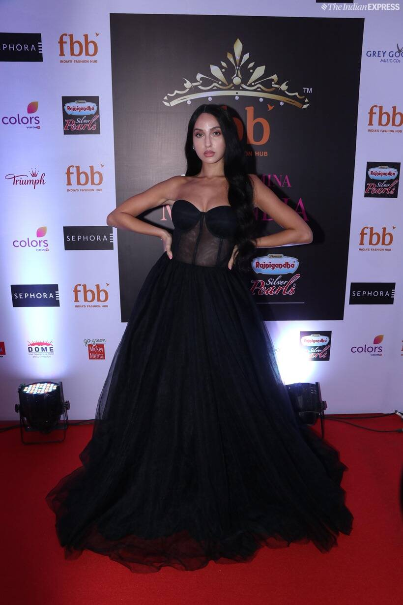 nora fatehi at femina miss india 2019 finale