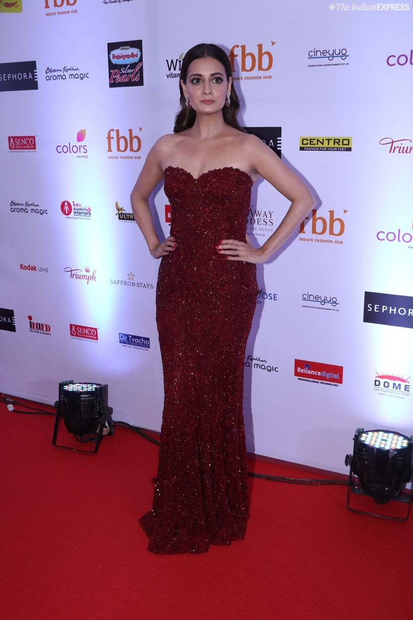 dia mirza at femina miss india 2019 finale