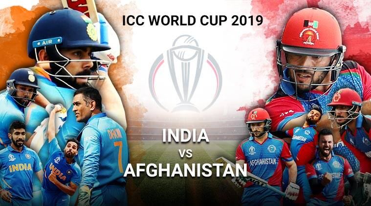 India vs Afghanistan Live Cricket Score Online, World Cup 2019
