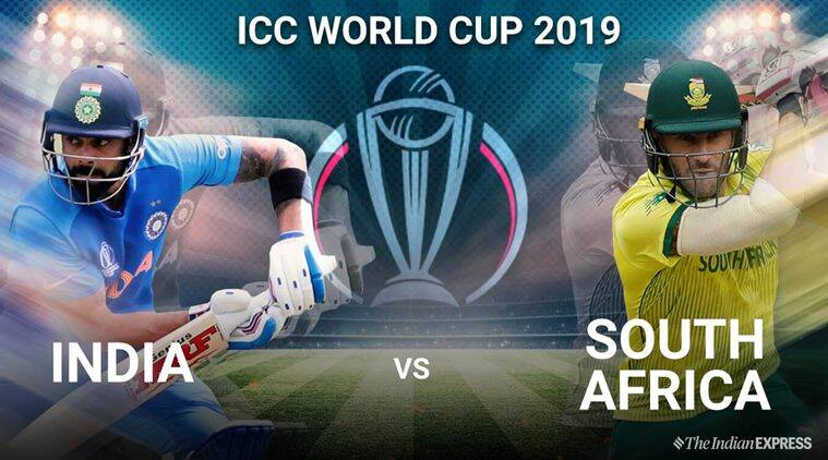 icc world cup india versus south africa video