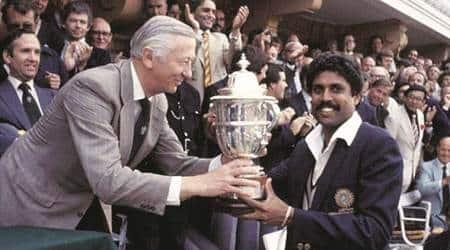 India world cup, India 1983 world cup, India cricket world cup, 1983 cricket world cup, 1983 Kapil Dev, Syed Kirmani,