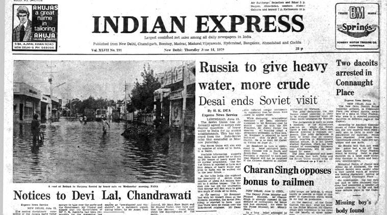 Forty years ago, June 14, 1979: Soviet heavy water