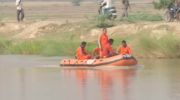 Lucknow: 7 children feared drowned after vehicle falls into canal