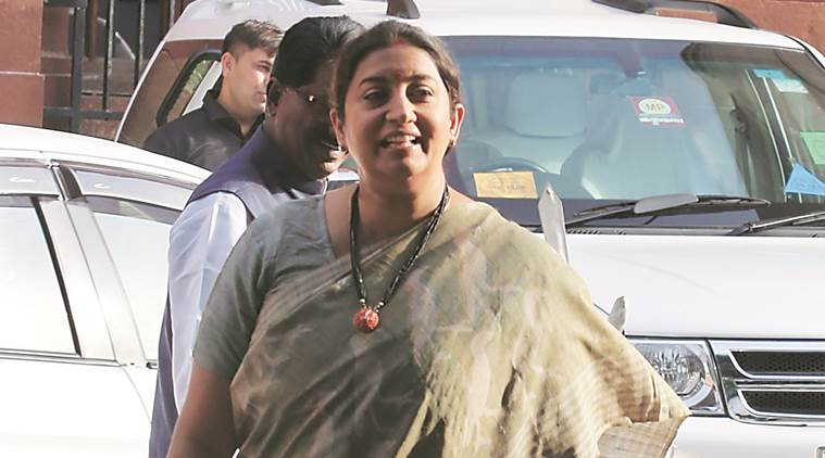 At helm of WCD ministry, Irani likely to deal with women's reservation Bill