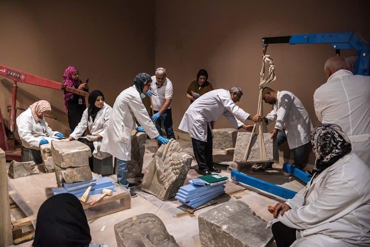 Baghdad museum, iraq museum, sumerian art