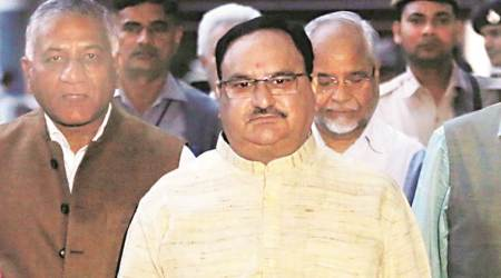 Pak refugees to J-K could not contest even local polls due to Article 370: J P Nadda